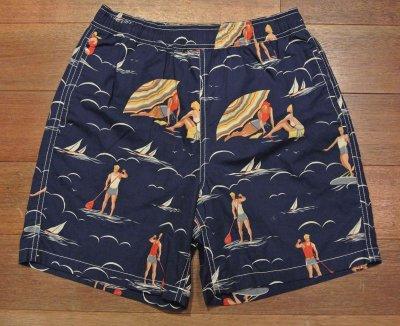画像2: ポロラルフローレン スウィムパンツ、海パン(ヨット+人)BoysLサイズ
