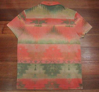 画像3: 【SALE!!】【クリックポスト198円も可】 ポロラルフローレン ネイティブアメリカン柄 ポロシャツ (L)