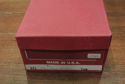 画像3: 【SALE!!】 アメリカ製デッドストック WALKOVE コンビロングウィングチップ(8h)
