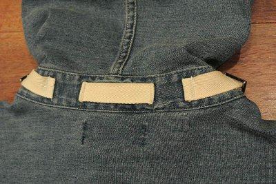 画像3: ポロラルフローレン インディゴカットソー 40'sUS NAVYタイプ プルオーバージャケット(M)