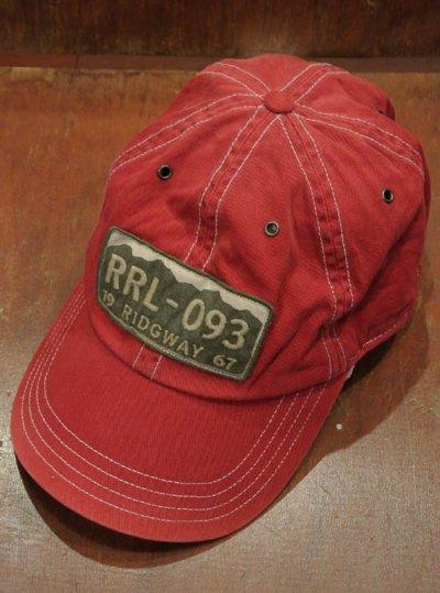 画像2: RRL DoubleRL ダブルアールエル ビンテージ加工トラッカーキャップ(Red)