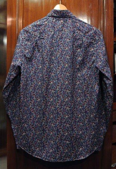 画像3: 【クリックポスト170円も可】 J.CREW フローラル総柄B.Dシャツ 【Blue/S】 新品 並行輸入