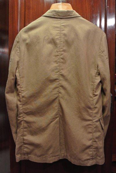 画像3: ポロラルフローレン コットン×リネン ウォッシュドテーラードジャケット (Beige/38R)