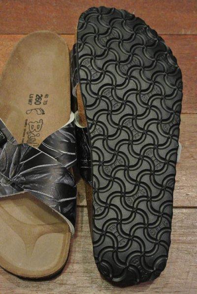 画像3: 【SALE!!】 Birki's(ビルキーbyビルケンシュトック)Leather Santosa(Black Leather/40)【日本未発売】