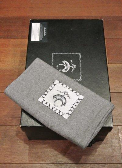 画像3: ブルックスブラザーズ ブラックフリース クロケット&ジョーンズ製 ヌバックブーツ (BLACK/9-D) Thom Browne