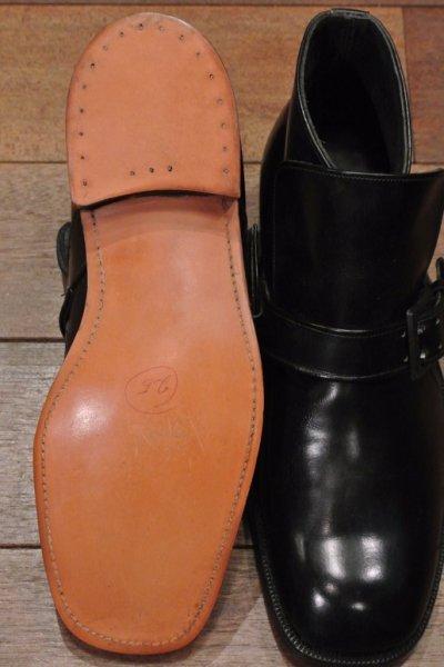画像2: 箱入りデッドストック Nettleton(ネトルトン)ストラップ チャッカブーツ アメリカ製 (BLACK,8 1/2-M)