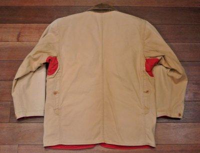 画像3: 【Used】 Polo Country ポロカントリー リバーシブル ダック ハンティングジャケット(Red/Beige,S)