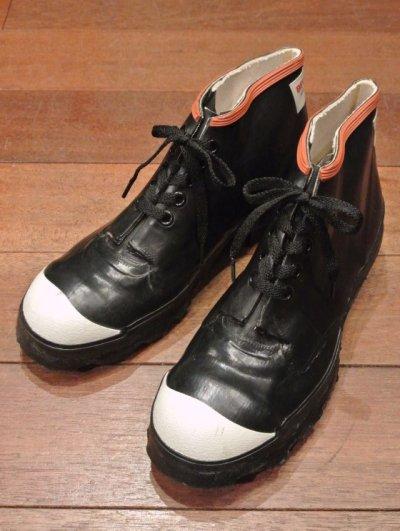画像1: 1960-70's デッドストック BF Goodrich ゴム6インチ ブーツ アメリカ製 (26-26.5cm)