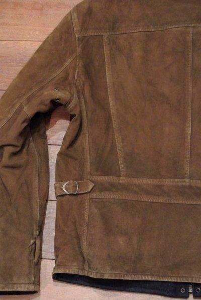 画像3: ポロラルフローレン ディアスキンスウェード×ウールメルトン リバーシブルスポーツジャケット (L) 新品