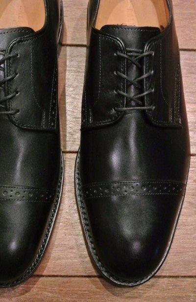 画像1: 【 SALE!! 】ラルフローレン アメリカ製 ストレートチップ (Slaton:Black:8-E) 新品 並行輸入