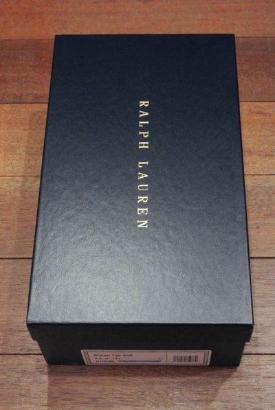 画像3: 【 SALE!! 】ラルフローレン アメリカ製 ストレートチップ (Slaton:Black:8-E) 新品 並行輸入