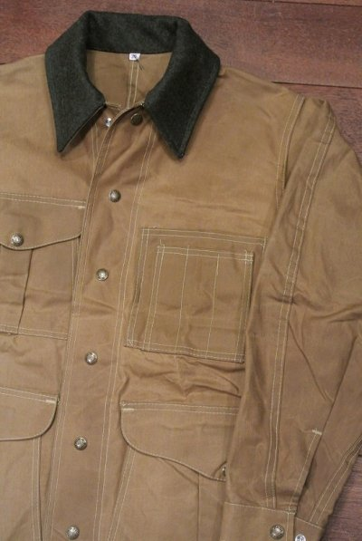 画像1: Deadstock Filson Tin Cloth Fieldjacket デッドストック フィルソン ティンクロス フィールドジャケット(36)