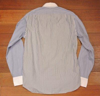 画像3: 【クリックポスト170円も可】 【SLIM FIT】 J.CREW クレイジーパターン B.Dシャツ  【Blue/S】 新品 並行輸入
