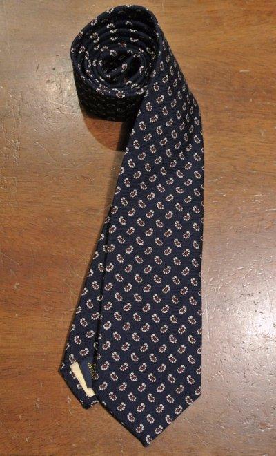 画像2: 【クリックポスト170円も可】ポロラルフローレン ペイズリー柄 ネクタイ(Navy/Wool) $125 新品 並行輸入