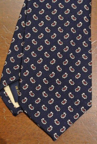 画像1: 【クリックポスト170円も可】ポロラルフローレン ペイズリー柄 ネクタイ(Navy/Wool) $125 新品 並行輸入