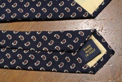 画像3: 【クリックポスト170円も可】ポロラルフローレン ペイズリー柄 ネクタイ(Navy/Wool) $125 新品 並行輸入