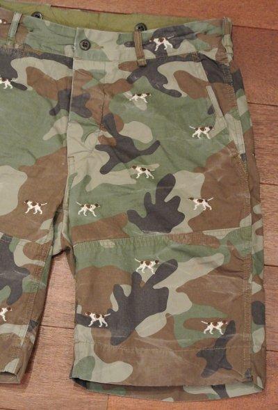 画像1: ポロラルフローレン カモ+犬刺繍 ショーツ(迷彩/W32) 新品 並行輸入