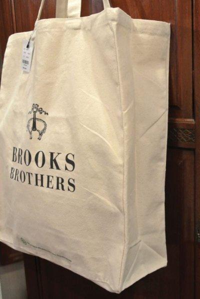 画像3: 【クリックポスト170円も可】 ブルックスブラザーズ コットンキャンバス トートバッグ
