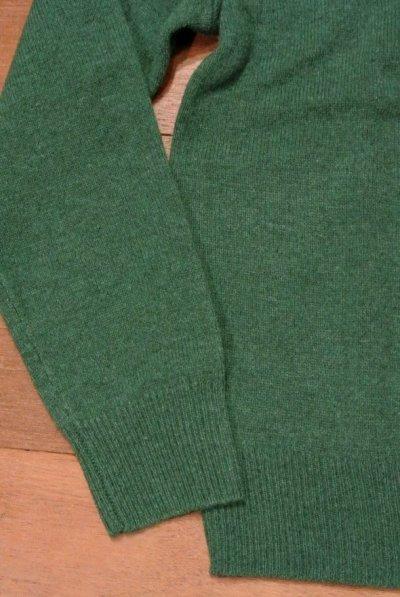 画像3: J.CREW ジェイクルー ラムズウール クルーネックセーター (Green /S) 新品 並行輸入
