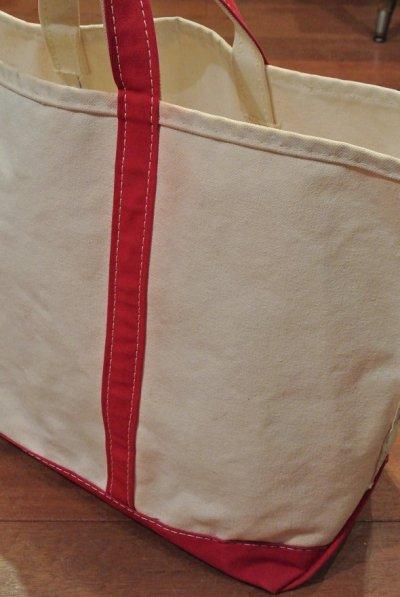 画像2: 【Vintage/Used】1980's L.L Bean (エルエル ビーン) キャンバストートバッグ Large (赤)