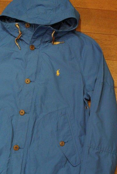 画像1: ポロラルフローレン 60/40クロス フーデッドジャケット  (BLUE/S) 新品 並行輸入