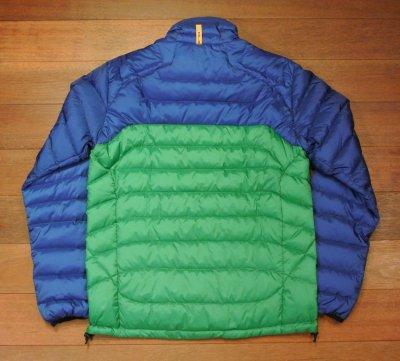 画像3: 【 40%OFF!! 】 RLX ラルフローレン バイカラー ライトダウンジャケット 【Blue*Green/S】 新品 並行輸入