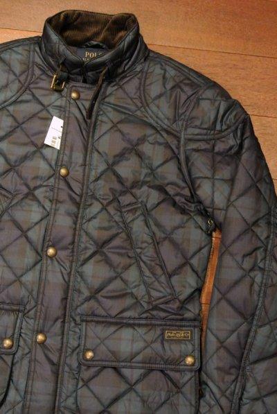 画像1: ポロラルフローレン ブラックウォッチ柄 キルティングジャケット 【S】 新品 並行輸入