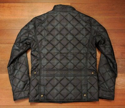画像3: ポロラルフローレン ブラックウォッチ柄 キルティングジャケット 【S】 新品 並行輸入