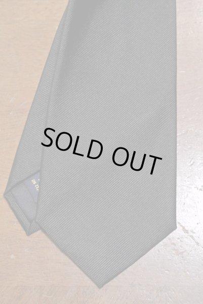 画像1: 【クリックポスト170円も可】 ポロラルフローレン シルク100% ブラック ネクタイ イタリア製 【Black】 新品 並行輸入 (1)