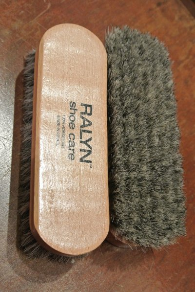 画像2: 【RALYN】  スムースレザー用 ホースヘアーブラシ
