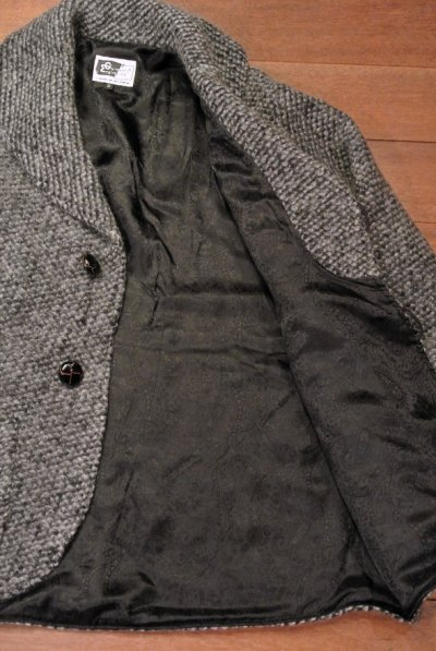 画像3: 未使用品 ENGINEERED GARMENTS(エンジニアドガーメンツ) ショールカラー ニットジャケット 【Gray/S】