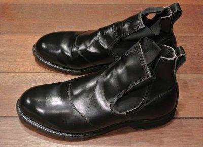画像2: 【Used】 U.S NAVY  Molders Shoes U.S ネイビー サイドゴアブーツ (9-D)