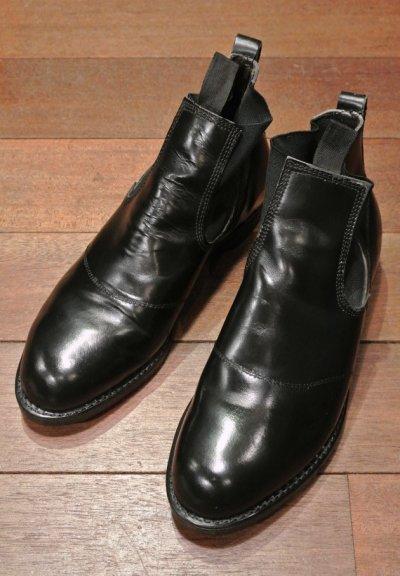 画像1: 【Used】 U.S NAVY  Molders Shoes U.S ネイビー サイドゴアブーツ (9-D)