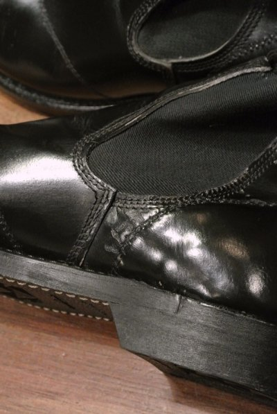 画像3: 【Used】 U.S NAVY  Molders Shoes U.S ネイビー サイドゴアブーツ (9-D)
