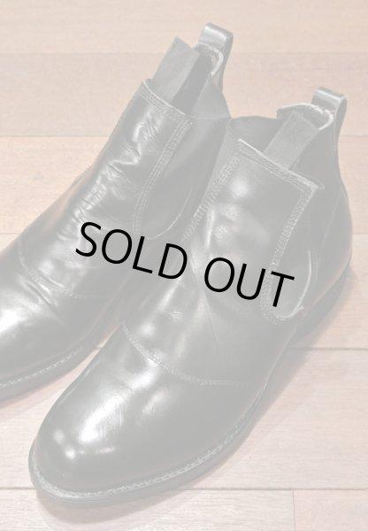 画像1: 【Used】 U.S NAVY  Molders Shoes U.S ネイビー サイドゴアブーツ (9-D) (1)