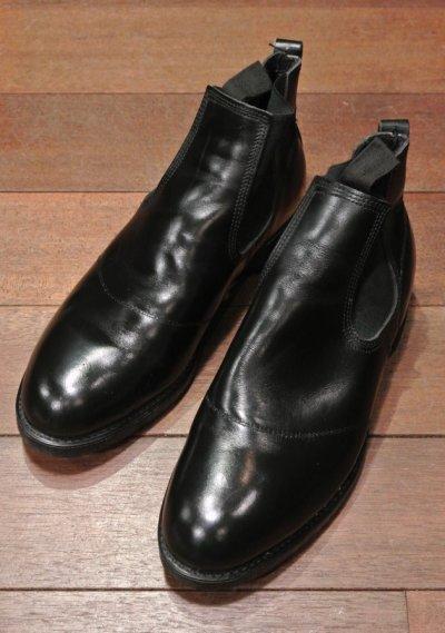 画像1: 【Good Used】 U.S NAVY  Molders Shoes U.S ネイビー サイドゴアブーツ (9EE)