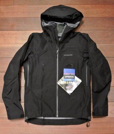 画像2: 【 20%OFF!! 】 Pataginia(パタゴニア) FA13年 Super pulma jacket ゴアテックス ハードシェルジャケット 【Black/XS】 新品