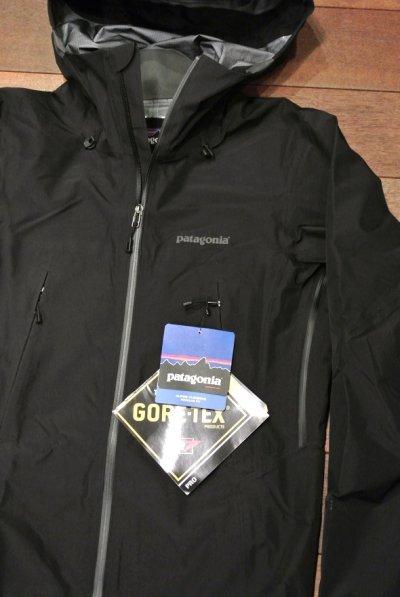 画像1: 【 20%OFF!! 】 Pataginia(パタゴニア) FA13年 Super pulma jacket ゴアテックス ハードシェルジャケット 【Black/XS】 新品