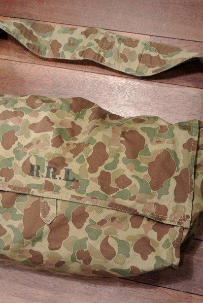 画像1: 【 SALE!! 】RRL ダブルアールエル カモフラージュポーターバッグ 迷彩 新品