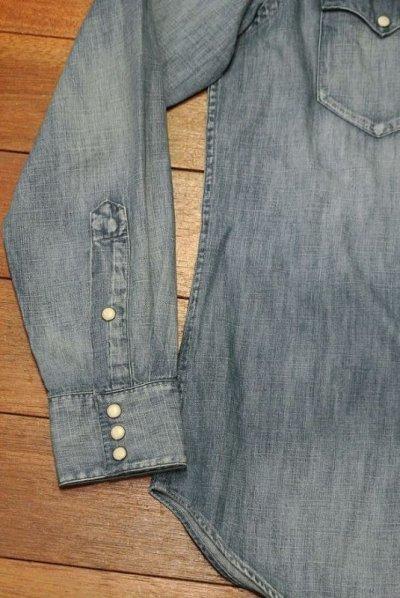 画像3: ポロラルフローレン  ウォッシュド デニムウエスタンシャツ( Blue / S ) 新品 国内正規品
