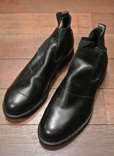 画像2: 87年 Deadstock デッドストック U.S NAVY Molders Shoes USネイビー サイドゴアブーツ (10R) 箱無し