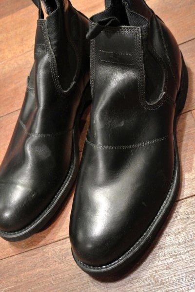 画像1: 87年 Deadstock デッドストック U.S NAVY Molders Shoes USネイビー サイドゴアブーツ (10R) 箱無し