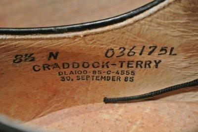 画像3: 箱入りデッドストック 1985年製 U.S NAVYサービスシューズ 【8 1/2-N】 CRADDOCK TERRY製