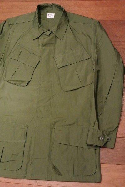 画像1: 68年デッドストック U.S ARMY リップストップ ジャングルファティーグジャケット 【SMALL/REGULER】