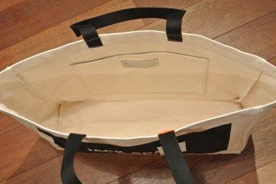 画像3: JACK SPADE (ジャックスペード) LOGO TOTE キャンバストートバッグ ( NATURAL ) $98 新品 並行輸入