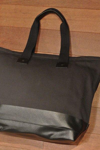 画像3: ポロラルフローレン コットンキャンバス+ラバー トートバッグ ( Black ) $198 新品 並行輸入