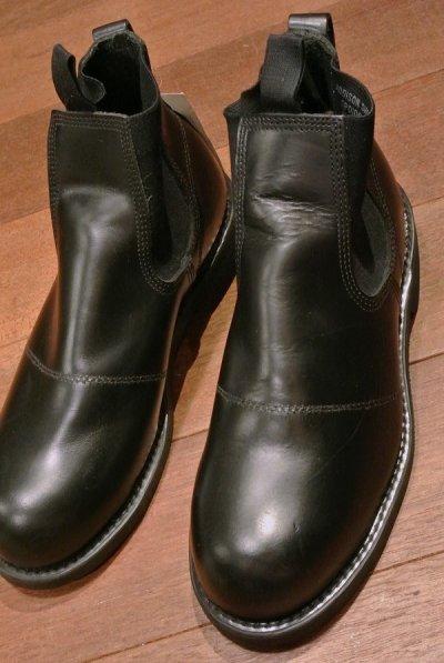 画像1: 2005年 Deadstock デッドストック U.S NAVY Molders Shoes USネイビー サイドゴアブーツ ( 7R ) 箱無し