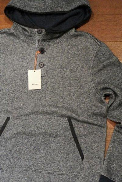 画像2: JACK SPADE(ジャックスペード) CALDWELL HOODED SWEATSHIRT スウェットパーカ  ( Navy / M ) $198 新品 並行輸入