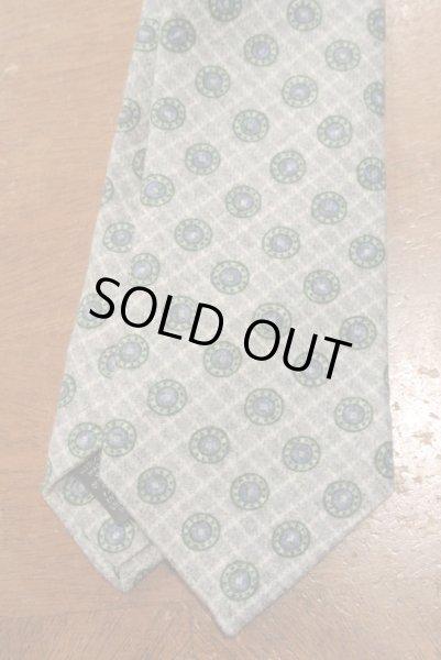 画像1: 【クリックポスト170円も可】 IKE BEHAR アイクベーハー ウール 小紋ネクタイ (Gray) 新品 並行輸入 (1)