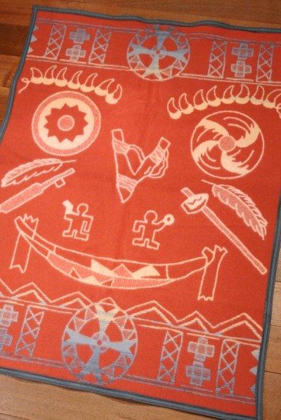 画像3: PENDLETON ペンドルトン ムチャチョブランケット アメリカ製 ひざ掛け (PRAIRIE TALES:YELLOW 81.2×111cm) 新品 出産祝い